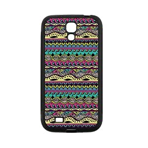 Custom Aztec Tribal Back Cover Case for SamSung Galaxy S4 I9500 JNS4-299