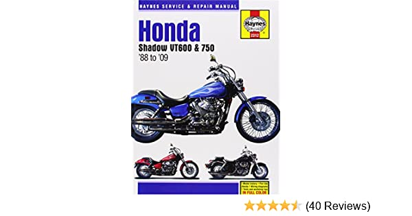 Honda shadow vt600 750 1988 to 09 haynes service repair manual honda shadow vt600 750 1988 to 09 haynes service repair manual max haynes 9781563928529 amazon books fandeluxe Image collections