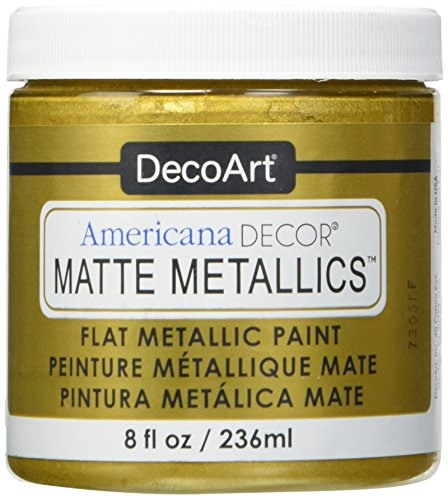 DECO ART Americana Decor Matte 8OZ Goldcraft Paint