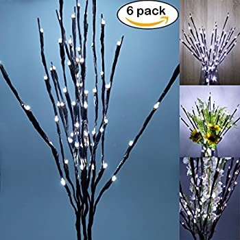 Amazon Com Lightshare 30inch 20led Natural Birch Berry
