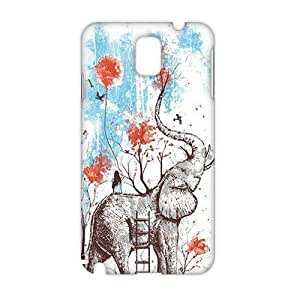 Angl 3D Cartoon Elephant Phone For LG G3 Case Cover