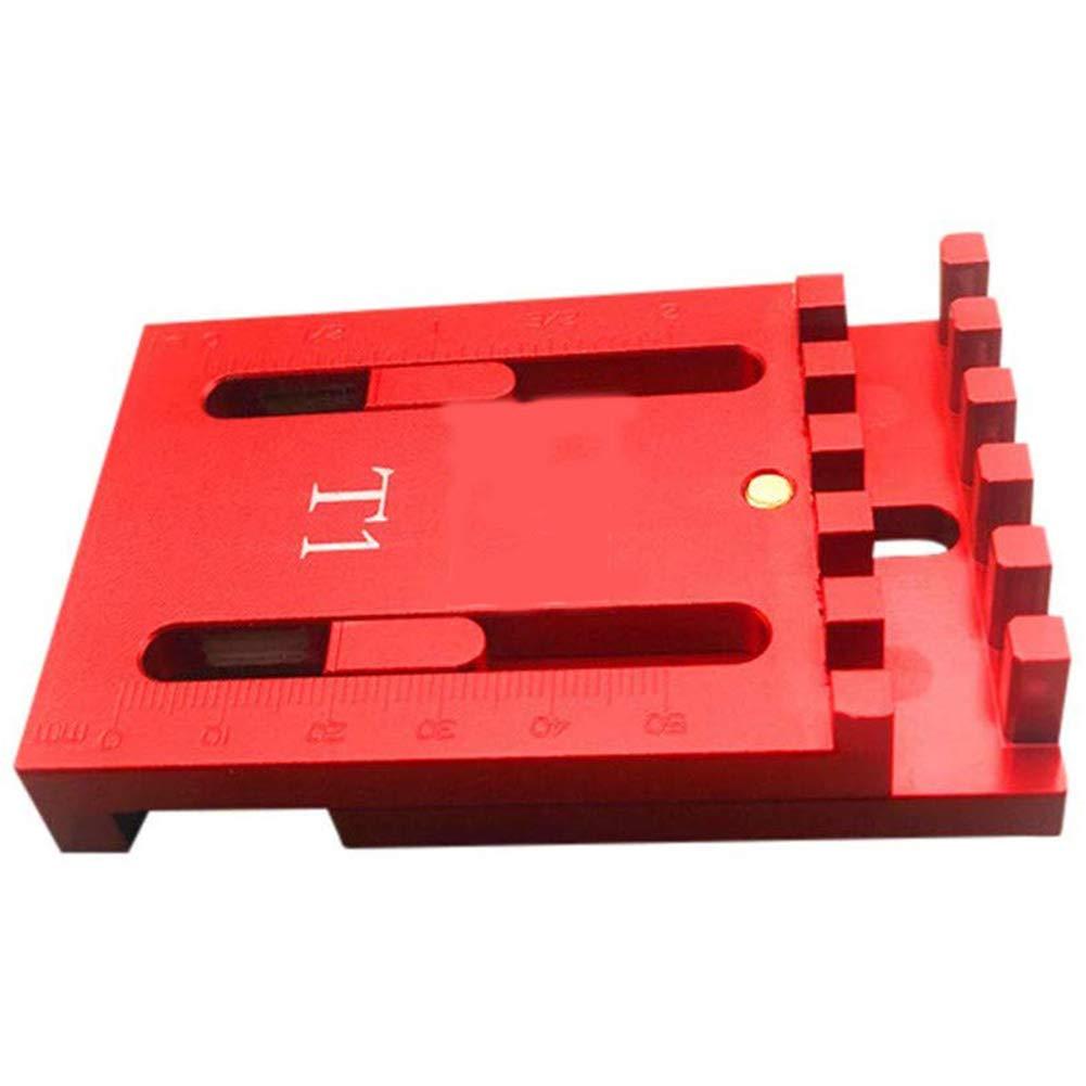 Woodworking Gaps Gauge Depth Measuring Ruler Line Sawtooth Ruler Marking Tool T1