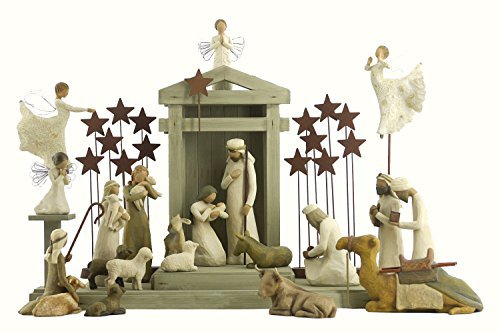 Demdaco Nativity (24 Pc. Willow Tree Nativity Package)
