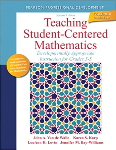 Amazon teaching student centered mathematics developmentally amazon teaching student centered mathematics developmentally appropriate instruction for grades 3 5 volume ii 2nd edition teaching fandeluxe Image collections