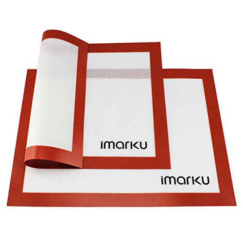iMarku Silicone Baking Mat Works Well