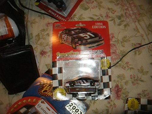 1994 NASCAR Racing Champions . . . Rick Mast #1 Precision Products Racing Ford Thunderbird 1/64 Diecast . . . Includes Collector's Card and Display Stand by Generic