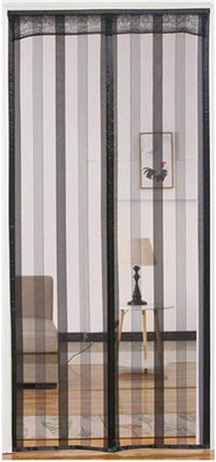 COAOC Cortina Mosquitera Magnetica Mosquiteras Correderas con Durable Cierre magnético Que se Cierra automáticamente para Puertas Correderas B 95x200cm(37x79in): Amazon.es: Hogar