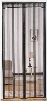 39x79inch Corredor Mantiene Insectos Mosquitera Magn/ética Autom/ático Evita el Paso de Insectos para Puertas de Sal/ón Blanco COAOC Cortina Mosquitera para Puertas 100x200cm Balc/ón