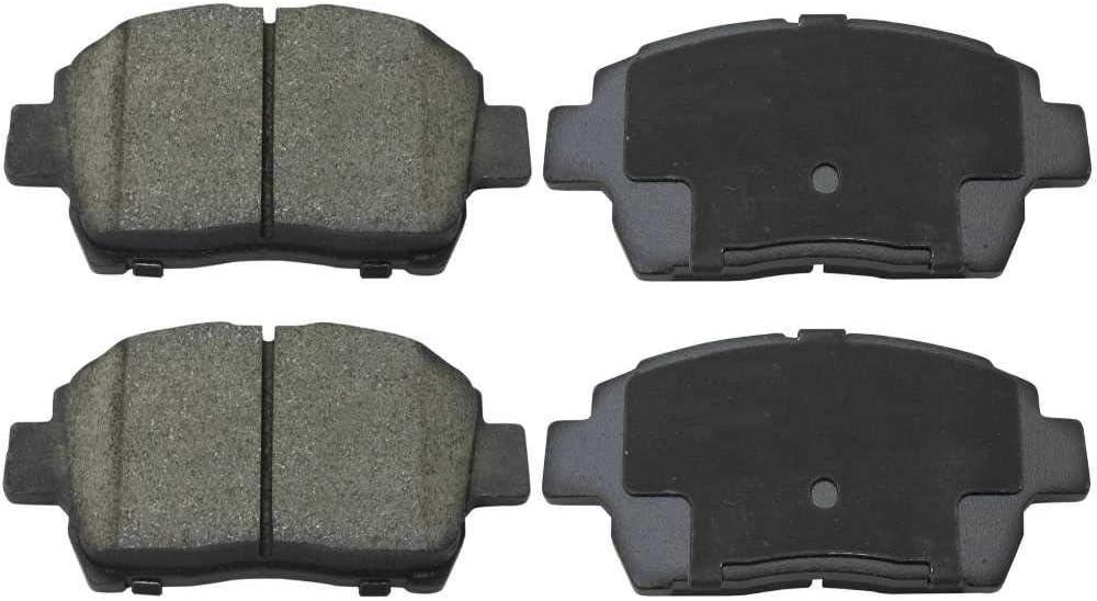 Auto Shack SCD822 Front Ceramic Brake Pads