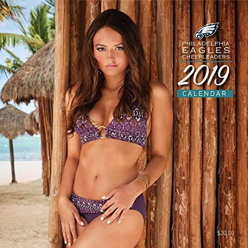 Philadelphia Eagles Cheerleaders Wall Calendar 2019