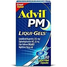 Advil PM Liqui-Gels Capsules - 80 CT