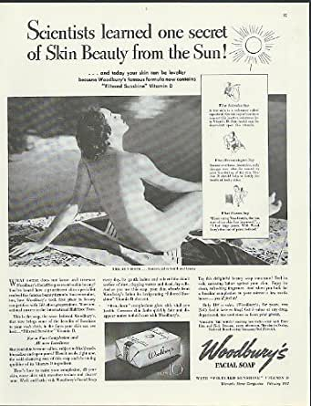 Amazon Com Scientists Learned From The Sun Woodbury Soap