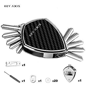 Llavero organizador de llaves compacto de Key Axis, hecho de ...