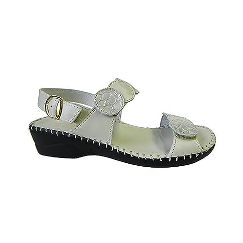 Shoes /& Jewelry Shoes  SZ Laplume Bonnie Low Heel Sandal Clothing