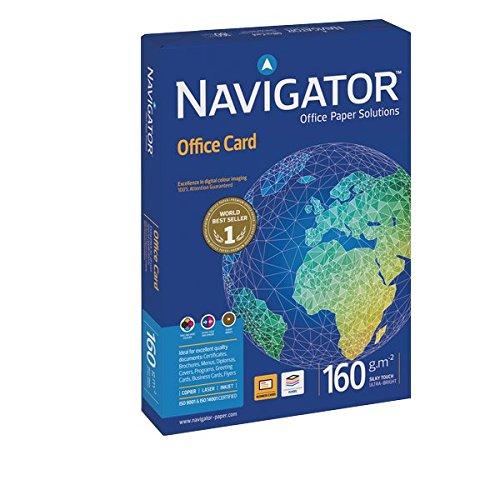 103 opinioni per Navigator 0010CE Carta Office Card, A4, 160 G/Mq, 170 µm