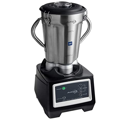 Amazon.com: Avamix 3 3/4 hp 1 galón de acero inoxidable alto ...