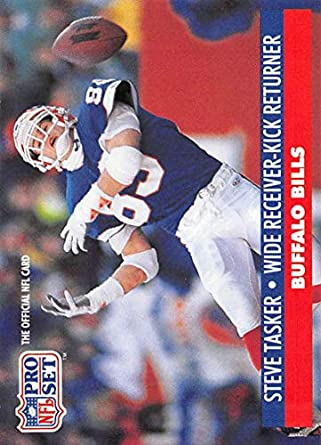 1991 Pro Set Football Card  85 Steve Tasker Buffalo Bills Official NFL  Trading Card 362998a28