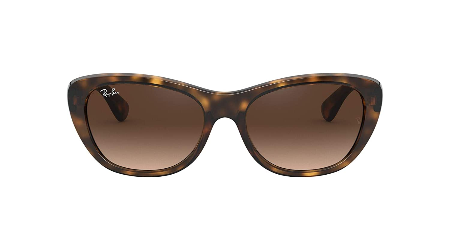 Ray-Ban Rb4227 Gafas de sol, Light Havana, 55 para Mujer: Amazon ...
