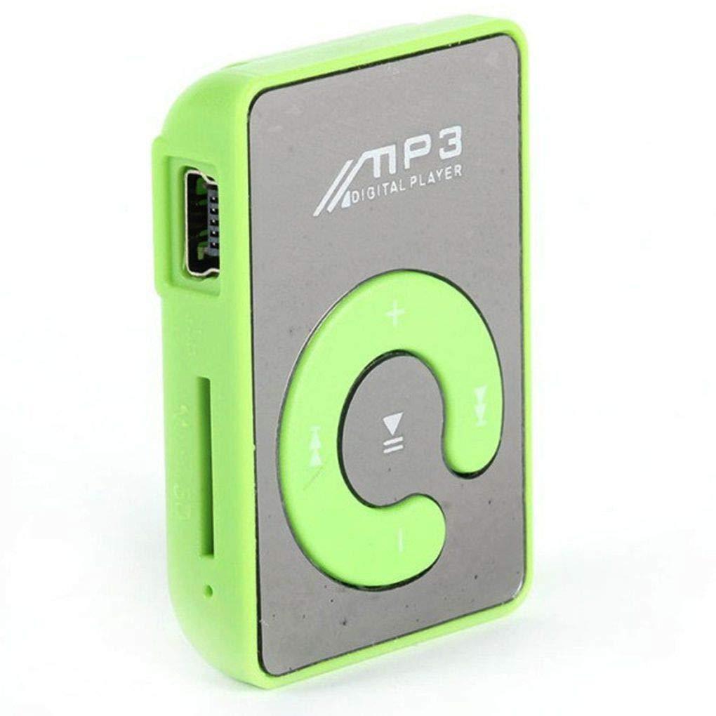 Amazon.com: Gankmachine Espejo Clip USB MP3 Player Sport ...