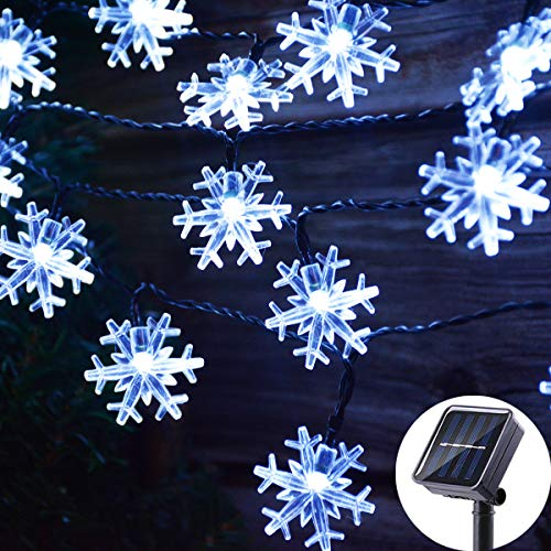 Outdoor Snowflake Light String in US - 3