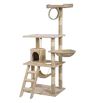 64\u0026quot; Cat Tree Condo Furniture Scratch Post Amazon.com : 64\