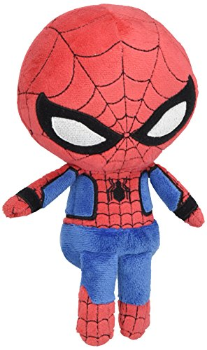 Spider Man New Suit (Funko Hero Plushies Marvel New Suit Spiderman Action Figure)