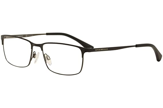 d82db110c50 Image Unavailable. Image not available for. Color  Armani EA1042 Eyeglass  Frames 3127-55 - Matte Black black brown