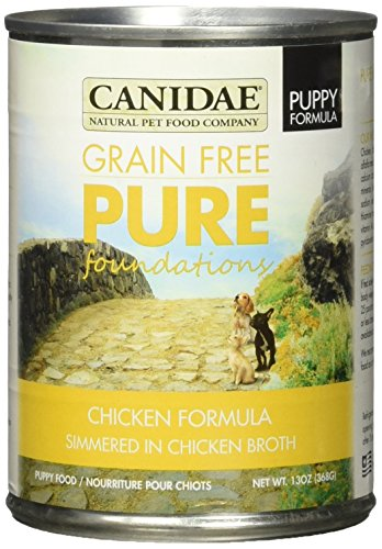 Canidae Grain Free Pure Foundations Chicken Puppy Canned Food, 13 oz., Case of 12