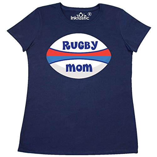 1401 Rugby (Inktastic - Rugby Mom sports Women's T-Shirt XX-Large Navy Blue)