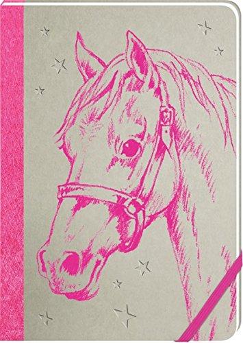 Notizbuch - Pferdefreunde - Meine Notizen (pink)
