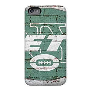 Allbestcases Apple Iphone 6s Plus Excellent Cell-phone Hard Cover Allow Personal Design Realistic New York Jets Pattern [Oxd603fUsH]