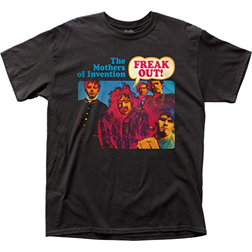 Frank Zappa - Freak Out! T-Shirt, Black , X-Large