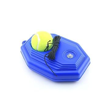 Hinmay Zapatillas de Pelota de Tenis, Base de Tenis con una Cuerda de Rebote de Tenis ...