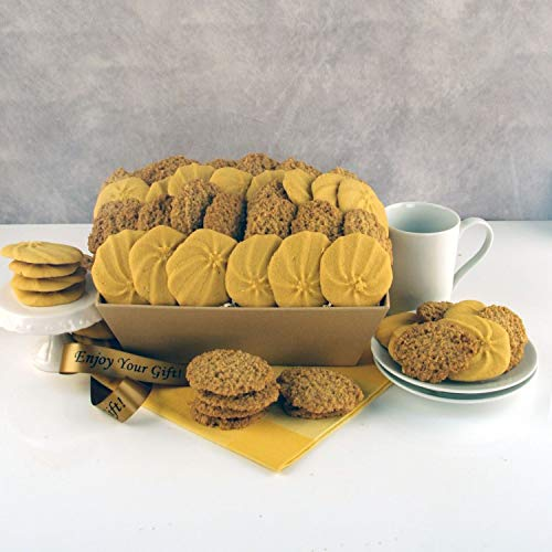 Luxury Biscuit Hamper – Lemon Crunch Tray – Fast UK Delivery on Biscuit Gifts