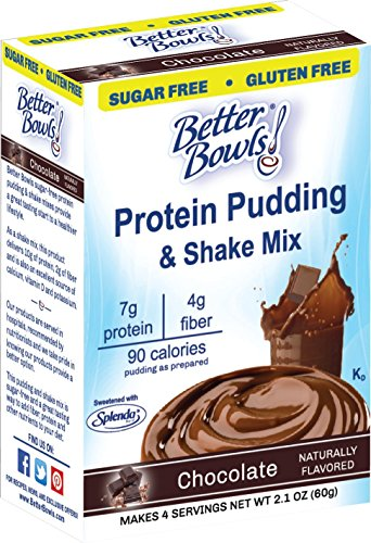 Better Bowls Sugar Chocolate Pudding