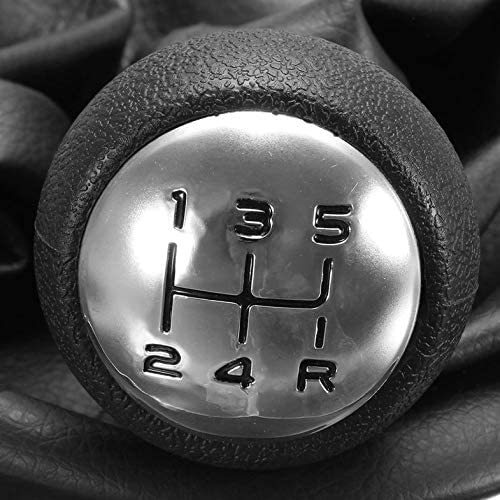 Cloverly 5 Speed Gear Shift Stick Leather Gaitor Gaiter Knob Cover for Peugeot 207 307 CC 308 Dirt-Proof Anti-Dust Car Styling Supplies