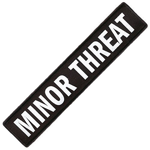 Minor Threat Patches - 1