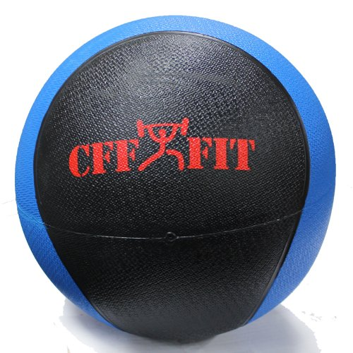 CFF Deluxe Rubber Medicine Ball, 12-Pound