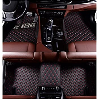 Amazon Com Worth Mats Custom Fit Luxury Leather Waterproof Floor