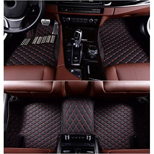 6b05ed78059 Okutech Custom Fit All Weather 3D Covered XPE- Leather Car Carpet  FloorLiner Floor Mats for