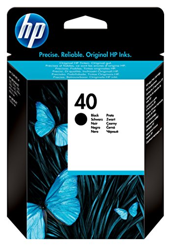 HP 40 Black Original Ink Cartridge (51640A) DISCONTINUED BY MANUFACTURER (Toner De Sharp compare prices)