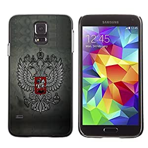 GagaDesign Phone Accessories: Hard Case Cover for Samsung Galaxy S5 - Royal Gryphon Crest