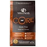 Wellness Core Natural Grain Free Dry Dog Food, Original Turkey &...
