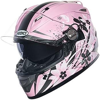 SEDICI Womens Strada Carino Full-Face Motorcycle Helmet - XS, Matte Pink
