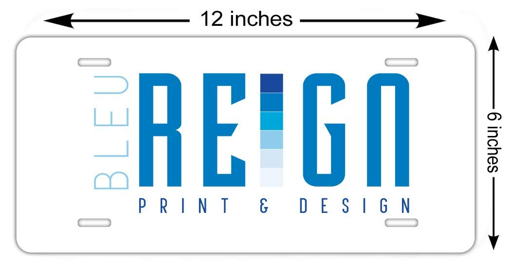 BRGiftShop Personalized Custom School Best Teacher Ever Gift Car Vehicle 6x12 License Plate Auto Tag