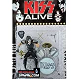 McFarlane Toys, KISS Alive Peter Criss (The Catman) Figure, 5 Inches