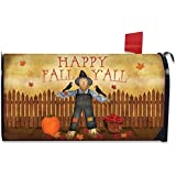 Happy Fall Yall Scarecrow Mailbox Cover Primitive Autumn Briarwood Lane by Briarwood Lane