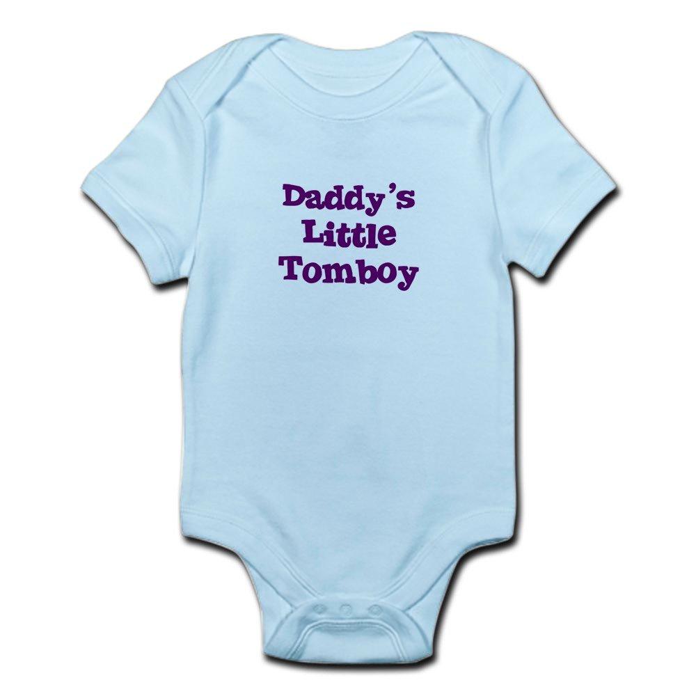 fa8e4f411 Amazon.com: CafePress Daddy's Little Tomboy Infant Creeper Baby Bodysuit:  Clothing