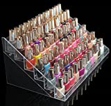 1-Racks Dainty Popular New Nails Polish Organizers Cosmetics Storage Acrylic Fashion Makeup Display Color Transparent 6 Tier Style #12