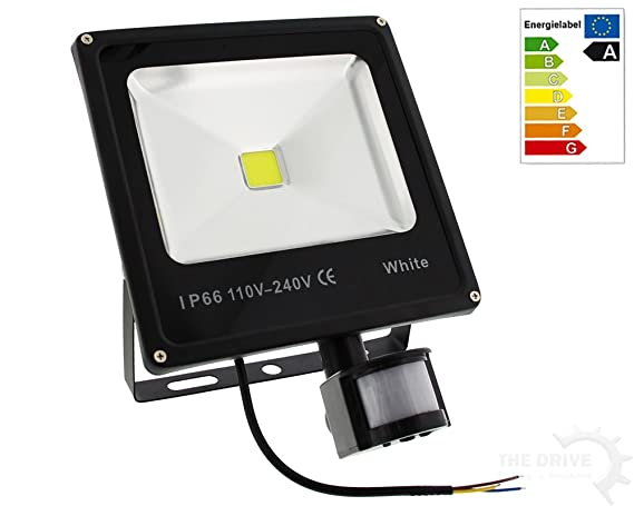 The drive de 17853 de LED Foco 20 W con detector de movimiento IP66